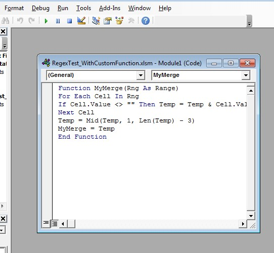 Concatenate and Format Cells Cleanly (Custom Excel Function)